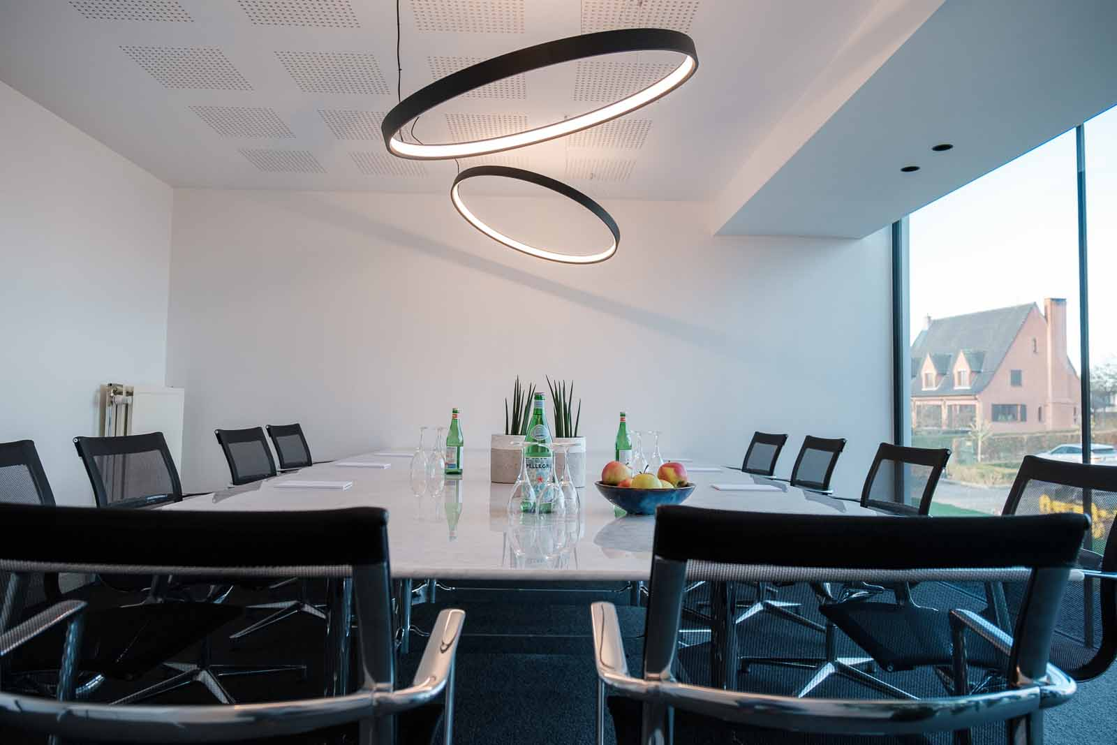 executive room tafel en stoelen